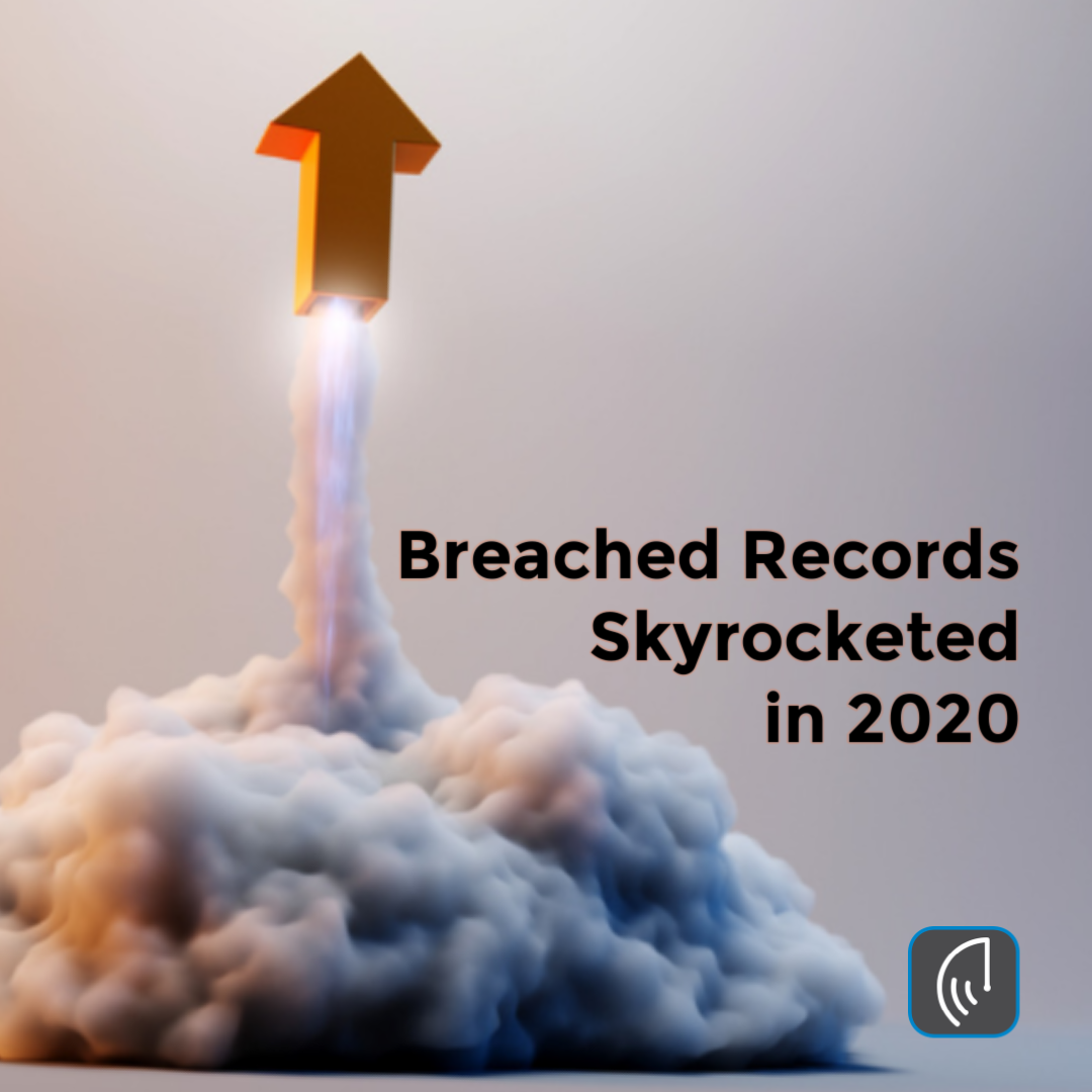 Breached Records Skyrocketed in 2020